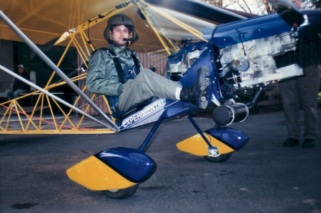 Ison Airbike - The Experimental Aviator